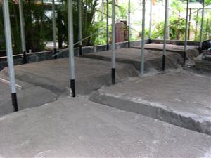 Concrete Fill Pattern Under the Slab