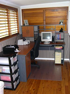Office After Painting and Moving In