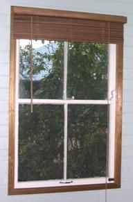 Old Double Hung Bed Room Window