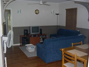 The old layout of the living room
