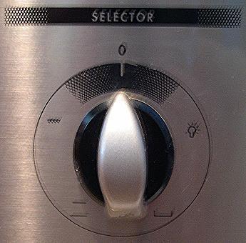 Fan Forced Oven Dial