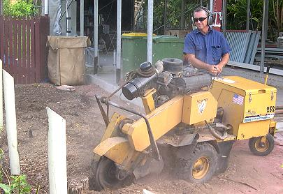 Townsville Stump Grinding owner Ivan