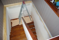 Internal Staircase Complete - needs painting