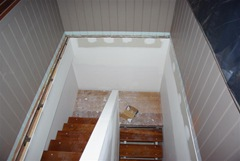 Stair Treads attached Internal Stairway Installation