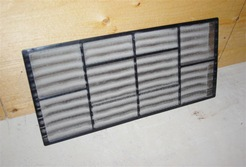 Clean your dirty air conditioner filter