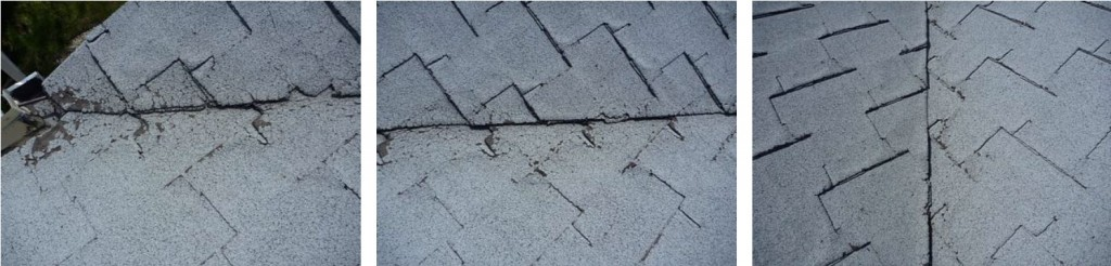 Roof Valley Repair Needed