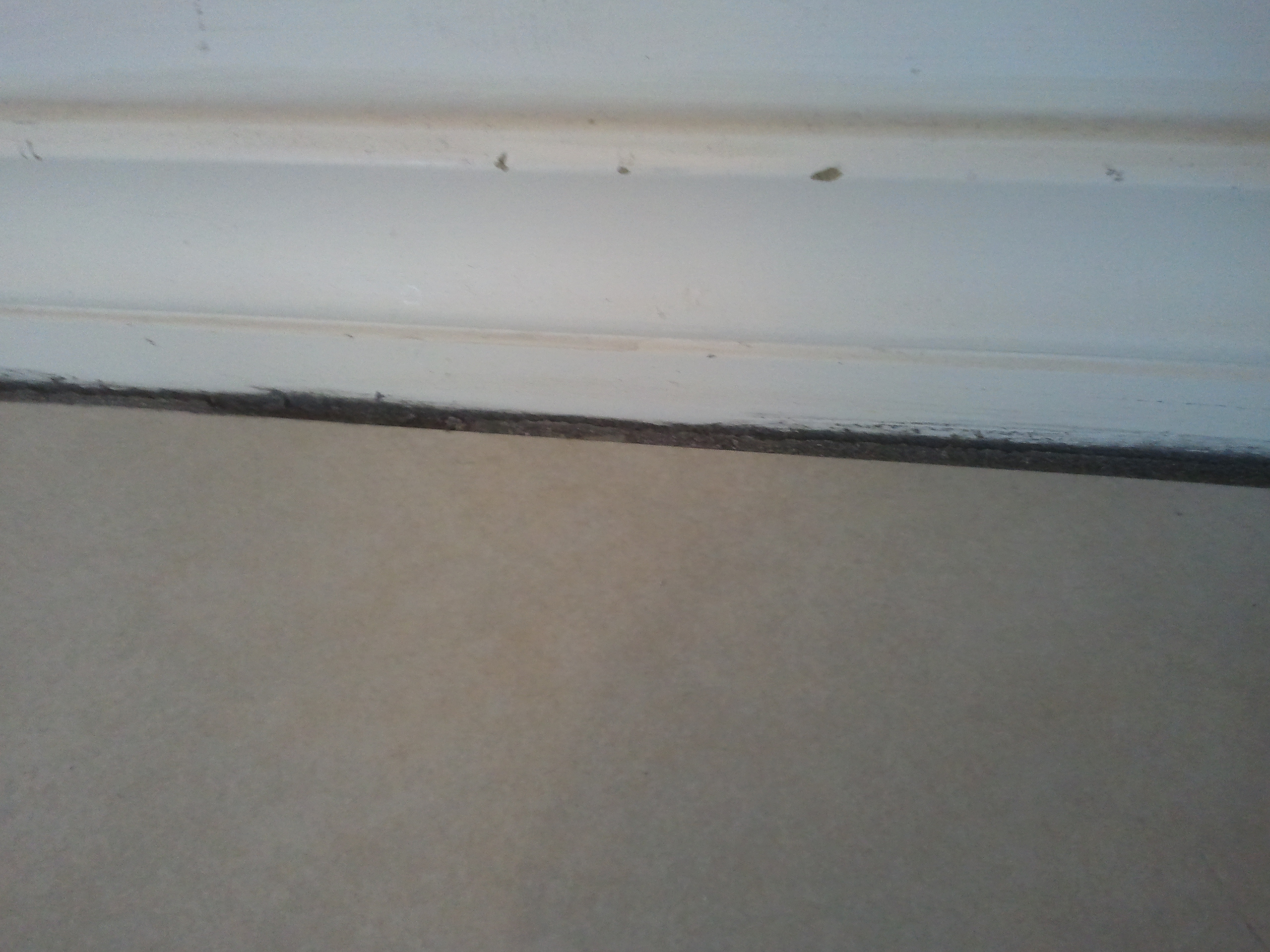 Should i install my floor tile or my baseboard trim first for My floor