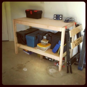 The Finished Workbench