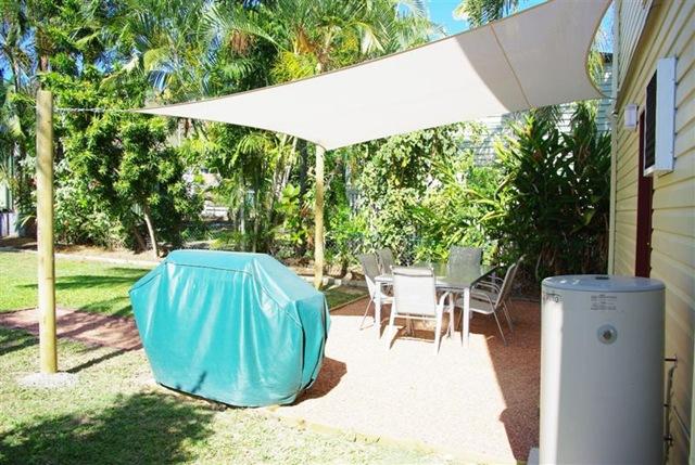 How To Install A Shade Cloth Sail Cover For A Patio Renovate Australia